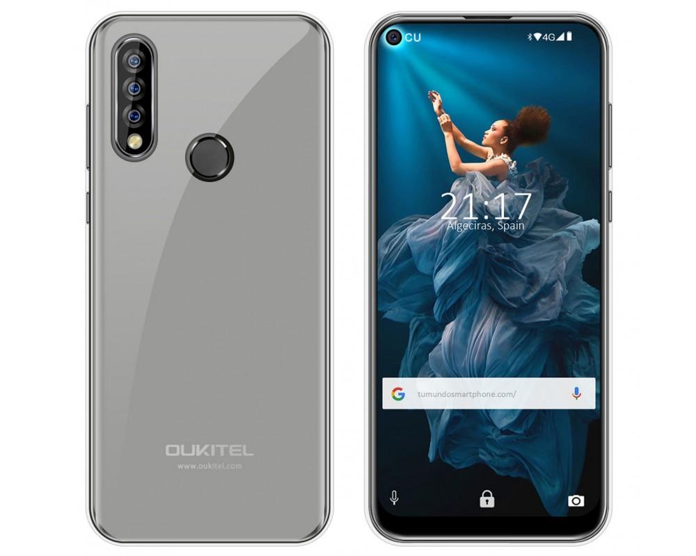 Funda Gel Tpu para Oukitel C17 Pro Color Transparente