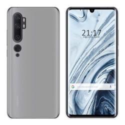 Funda Gel Tpu para Xiaomi Mi Note 10 Color Transparente