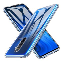Funda Gel Tpu Fina Ultra-Thin 0,5mm Transparente para Realme X2 Pro