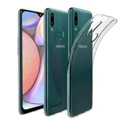 Funda Gel Tpu Fina Ultra-Thin 0,5mm Transparente para Samsung Galaxy A10s