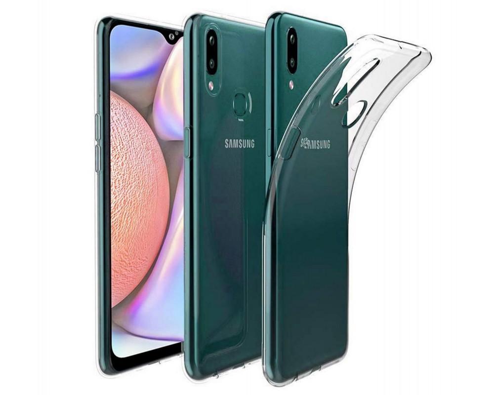 Funda Gel Tpu Fina Ultra-Thin 0,5mm Transparente para Samsung Galaxy A10s