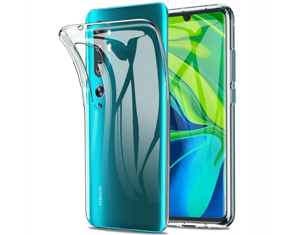 Funda Gel Tpu Fina Ultra-Thin 0,5mm Transparente para Xiaomi Mi Note 10