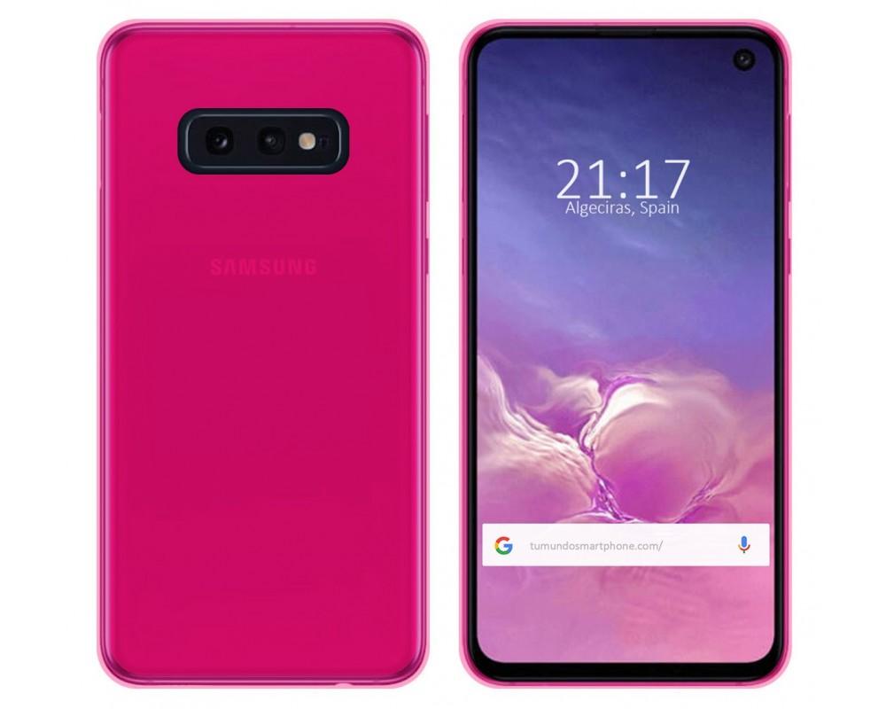 Funda Gel Tpu para Samsung Galaxy S10e Color Rosa