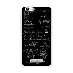 Funda Gel Tpu para Cubot Note S / Dinosaur  Diseño Formulas Dibujos
