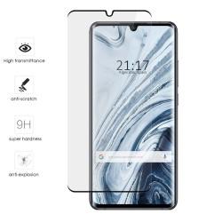 Protector Cristal Templado Completo 5D Full Glue Curvo Negro para Xiaomi Mi Note 10 Vidrio
