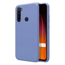Funda Silicona Líquida Ultra Suave para Xiaomi Redmi Note 8T color Azul Celeste
