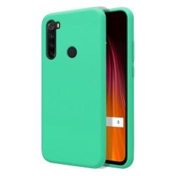 Funda Silicona Líquida Ultra Suave para Xiaomi Redmi Note 8T color Verde