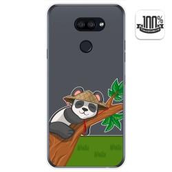 Funda Gel Transparente para Lg K40S diseño Panda Dibujos