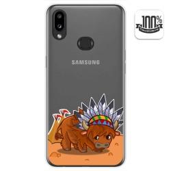 Funda Gel Transparente para Samsung Galaxy A10s diseño Bufalo Dibujos