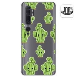Funda Gel Transparente para Xiaomi Mi Note 10 diseño Cactus Dibujos