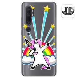 Funda Gel Transparente para Xiaomi Mi Note 10 diseño Unicornio Dibujos