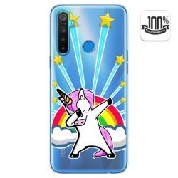 Funda Gel Transparente para Realme 5 / 5s / 5i / 6i diseño Unicornio Dibujos