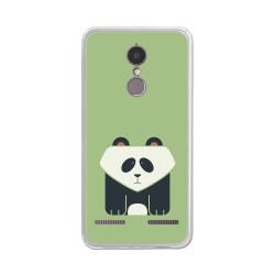 "Funda Gel Tpu para Lenovo K6 4G 5"" Diseño Panda Dibujos"