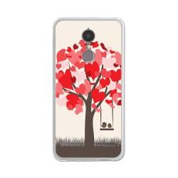 """Funda Gel Tpu para Lenovo K6 4G 5"""" Diseño Pajaritos Dibujos"""