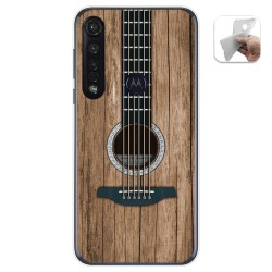 Funda Gel Tpu para Motorola Moto G8 Plus diseño Madera 11 Dibujos