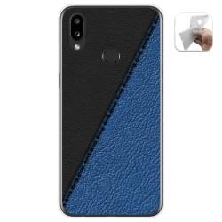 Funda Gel Tpu para Samsung Galaxy A10s diseño Cuero 02 Dibujos