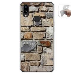 Funda Gel Tpu para Samsung Galaxy A10s diseño Ladrillo 03 Dibujos