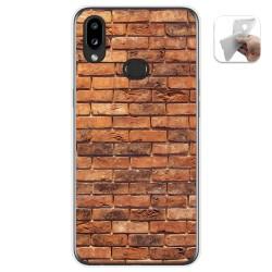 Funda Gel Tpu para Samsung Galaxy A10s diseño Ladrillo 04 Dibujos