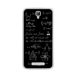 Funda Gel Tpu para Zte Blade L5 / L5 Plus Diseño Formulas Dibujos