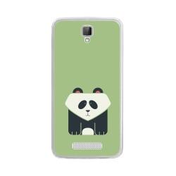 Funda Gel Tpu para Zte Blade L5 / L5 Plus Diseño Panda Dibujos