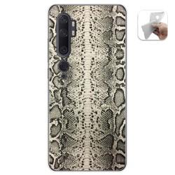 Funda Gel Tpu para Xiaomi Mi Note 10 diseño Animal 01 Dibujos