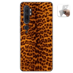 Funda Gel Tpu para Xiaomi Mi Note 10 diseño Animal 03 Dibujos