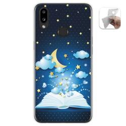 Funda Gel Tpu para Samsung Galaxy A10s diseño Libro Cuentos Dibujos