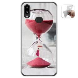 Funda Gel Tpu para Samsung Galaxy A10s diseño Reloj Dibujos