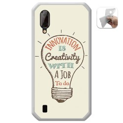 Funda Gel Tpu para Blackview BV6100 diseño Creativity Dibujos