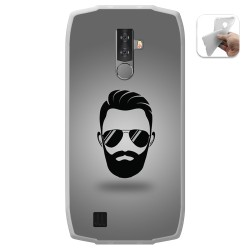 Funda Gel Tpu para Blackview BV6800 Pro diseño Barba Dibujos