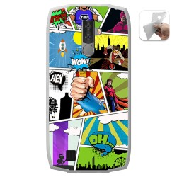 Funda Gel Tpu para Blackview BV6800 Pro diseño Comic Dibujos