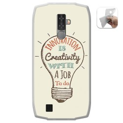Funda Gel Tpu para Blackview BV6800 Pro diseño Creativity Dibujos