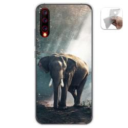Funda Gel Tpu para Umidigi X diseño Elefante Dibujos