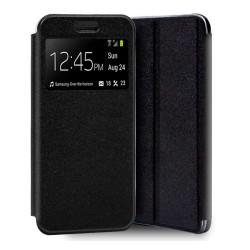 Funda Libro Soporte con Ventana para Xiaomi Redmi 7A Color Negra