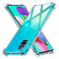 Funda Gel Tpu Anti-Shock Transparente para Samsung Galaxy A51