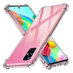 Funda Gel Tpu Anti-Shock Transparente para Samsung Galaxy A71