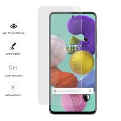 Protector Cristal Templado para Samsung Galaxy A51 Vidrio