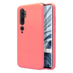 Funda Silicona Líquida Ultra Suave para Xiaomi Mi Note 10 color Rosa