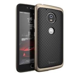 Funda Tipo Neo Hybrid (Pc+Tpu) Negra / Dorada para Lenovo Moto G5 Plus