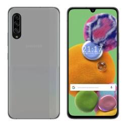 Funda Gel Tpu para Samsung Galaxy A90 5G Color Transparente
