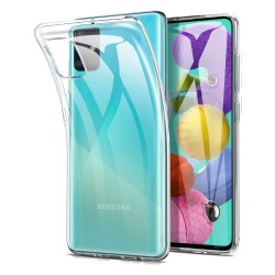 Funda Gel Tpu Fina Ultra-Thin 0,5mm Transparente para Samsung Galaxy A51