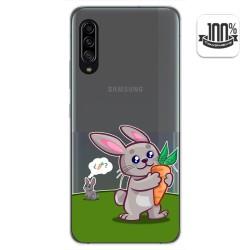 Funda Gel Transparente para Samsung Galaxy A90 5G diseño Conejo Dibujos