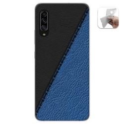 Funda Gel Tpu para Samsung Galaxy A90 5G diseño Cuero 02 Dibujos