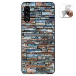 Funda Gel Tpu para Samsung Galaxy A90 5G diseño Ladrillo 05 Dibujos