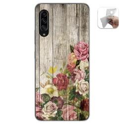 Funda Gel Tpu para Samsung Galaxy A90 5G diseño Madera 08 Dibujos