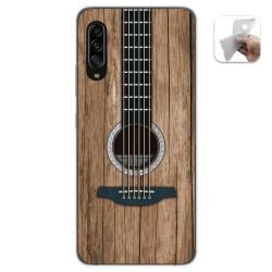 Funda Gel Tpu para Samsung Galaxy A90 5G diseño Madera 11 Dibujos