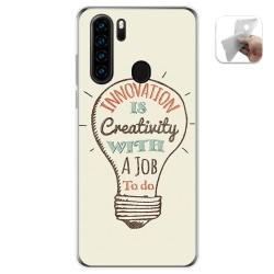 Funda Gel Tpu para Blackview A80 Pro diseño Creativity Dibujos