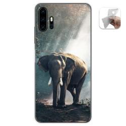 Funda Gel Tpu para Umidigi F2 diseño Elefante Dibujos
