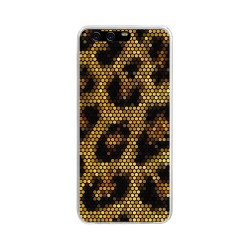 Funda Gel Tpu para Huawei P10 Diseño Leopardo Dibujos
