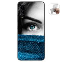 Funda Gel Tpu para Samsung Galaxy A90 5G diseño Ojo Dibujos